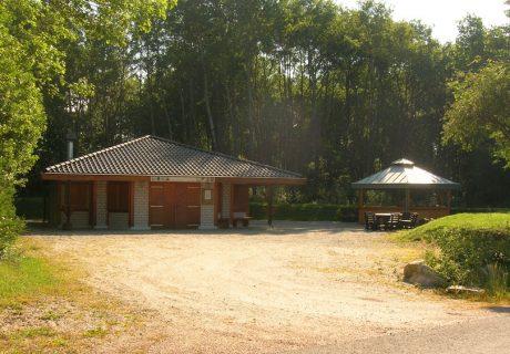 Grillhütte im Ortsbezirk Hundheim