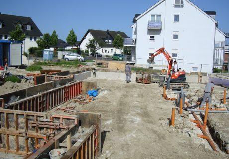 Baustelle Kindertagesstätte Morbach Auf der Huhf