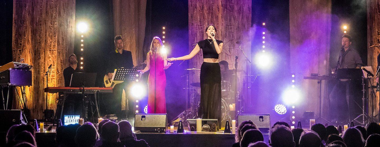 Herzlichter-Konzert in der Baldenauhalle Morbach