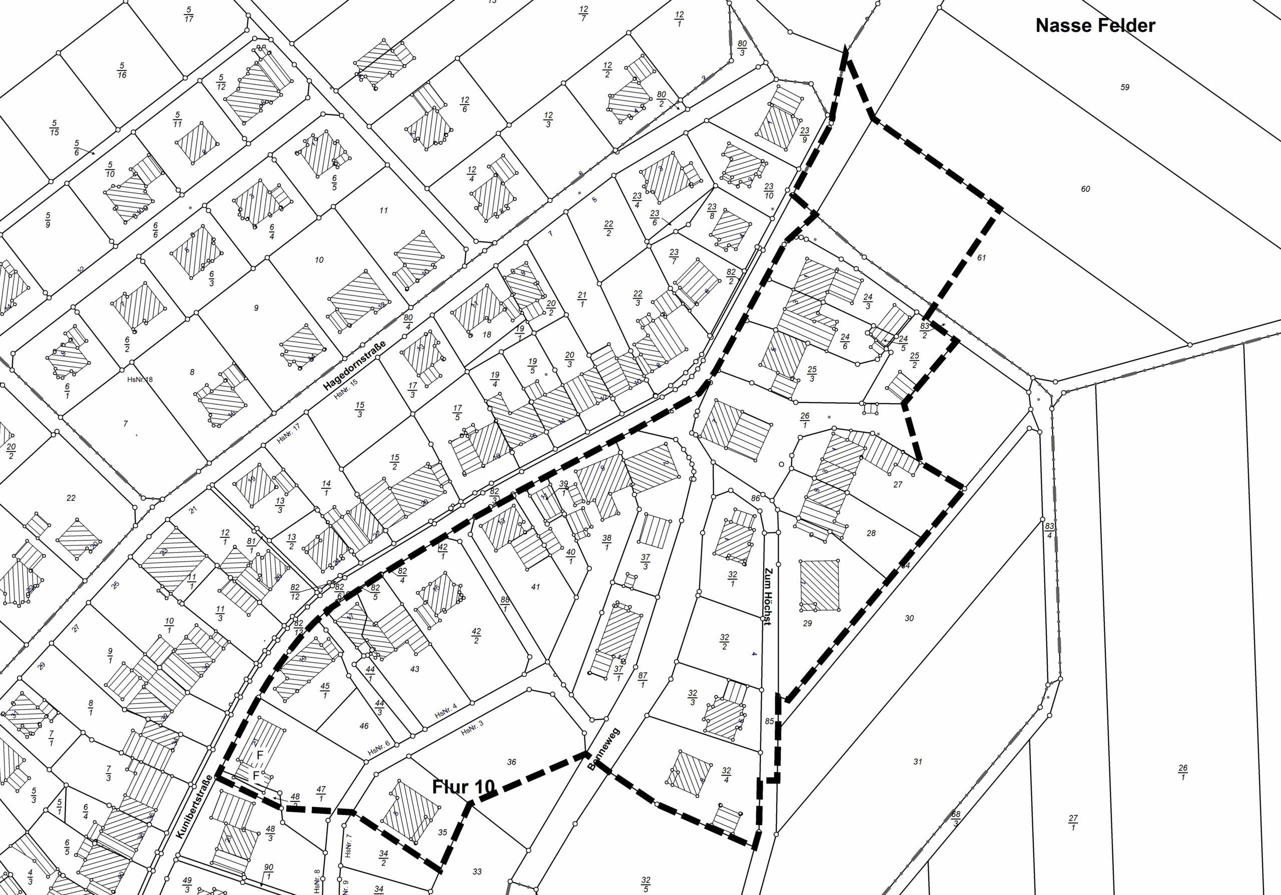 Haag-Östlicher Ortsrand Übersicht
